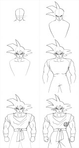 how-to-draw-goku